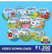 Preschool Prep 10 Video Downloads