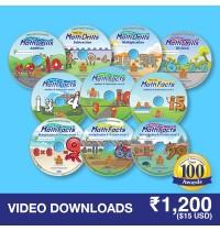 Math Facts 10 Video Downloads