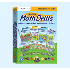Meet the Math Drills Video Set