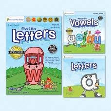 Letters Video & Storybook Set