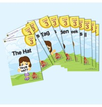 Sight Words 3 Easy Reader Book Set