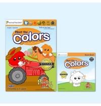 فيديوهات الألوان ومجموعة كتب القصص